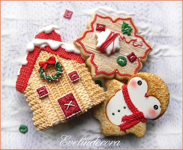#9 - Knit Christmas Cookies by Evelindecora