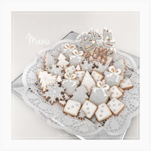 #10 - Winter-Themed Bunco Night Cookies