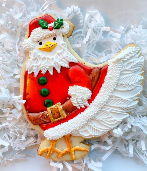 Christmas Chicken! by Little City Cookies