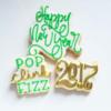 #1 - Happy New Year!: By Jill - Custom Cookies by Jill