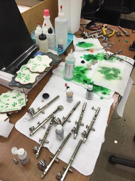 Airbrush Testing Station