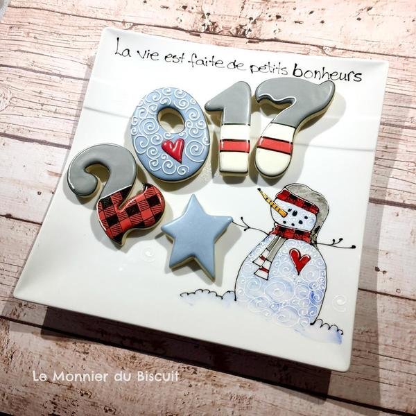 #3 - New Year Cookies by Le Monnier du Biscuit