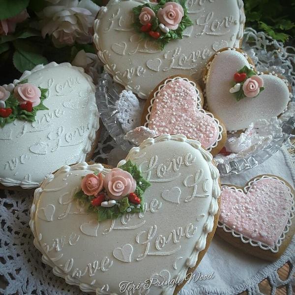 #4 - Love Hearts by Teri Pringle Wood