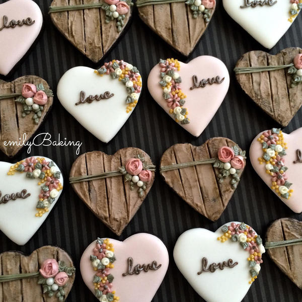 #10 - Botanical Hearts by emilybaking