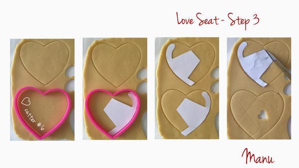 Love Seat - Step 3