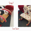 Love Seat - Steps 7 and 8: Design, Cookies, and Photos by Manu