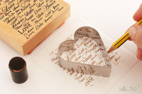 Stamping and tracing: