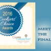 Meet the Finalists Banner: Graphic Design by Pretty Sweet Designs and Julia M Usher