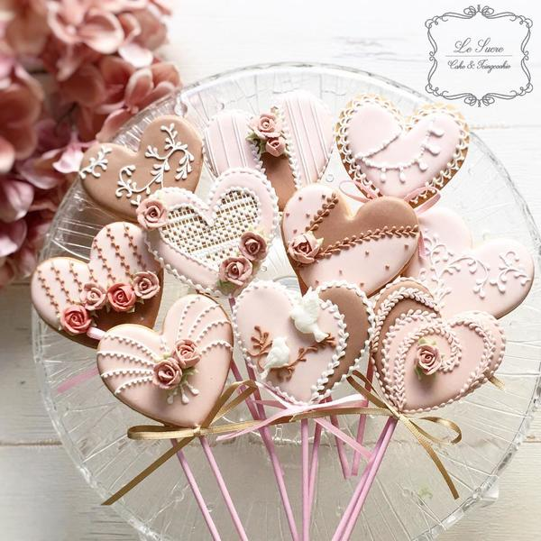 Valentine's Day Cookies by Le Sucre. June