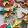 Boho Neon Cookies: Cookies and Photo by by Lorena Rodriguez