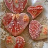 Hearts: Cookies and Photo by Tina at Sugar Wishes