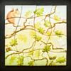 Oak Leaf Cookiesaw Being Painted: Photo and Cookies by Honeycat Cookies