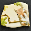 Handpainted Squirrel: Photo and Cookie by Honeycat Cookies