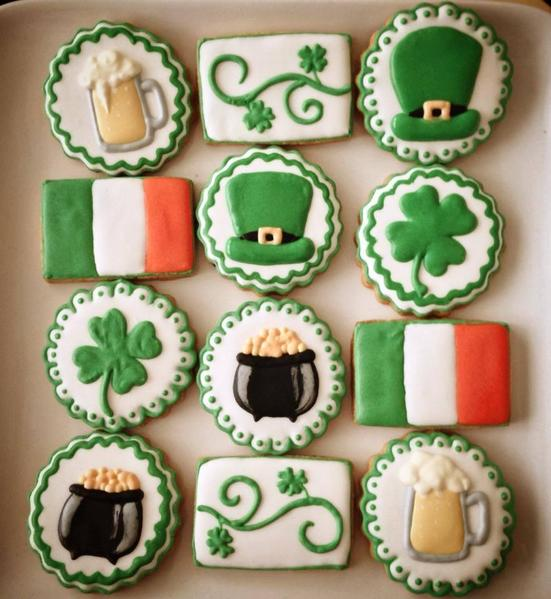 #3 - An Irish Platter by Vanessa at The Red Cake Tin