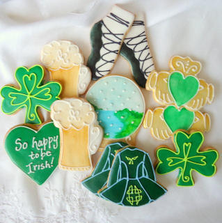 #7 - Happy to Be Irish! by POB Cookies