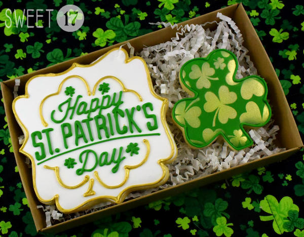 #9 - St. Patrick's Day by Sweet17Cookies