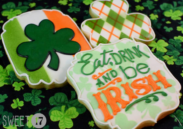 #10 - St. Patrick's Day 2 by Sweet17Cookies