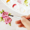 Painting Royal Icing Transfer: Photo by Dolce Sentire