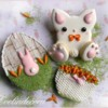 #4 - Easter Bunny Cookies: By Evelindecora
