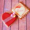 Heart Cookie Avatar: Cookies and Photo by Kaori Everitt-Hirota