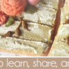 April 2017 Banner: Cookies and Photo by Kaori Everitt-Hirota; Graphic Design by Pretty Sweet Designs