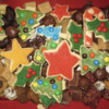 Dany's Typical Christmas Cookie Selection in Years Past: Cookies and Photo by Dany Lind