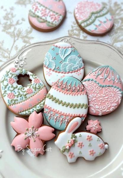 #3 - Easter Cookies by Sugarcat