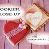 Cookier Close-up Banner for Kaori aka hikainmel (vert): Cookies and Photo by hikainmel (vert); Graphic Design by Julia M Usher