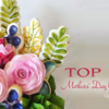 Top 10 Mothers' Day Cookies Banner: Cookies and Photo by The Painted Box