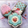 #1 - Shabby Chic Cookies: By Evelindecora