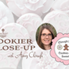 Amy's Cookier Close-up Banner: Cookies, Photo, and Logo Courtesy of Amy Clough; Graphic Design by Julia M Usher