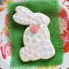Hammered Rabbit Cookie: Cookies and Photo by Amy Clough