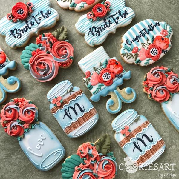 #3 - Bridal Shower by CookiesArtByShirlyn