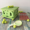 Variation with Tennis Cookies and Gumballs: Design, Cookies, and Photo by Manu