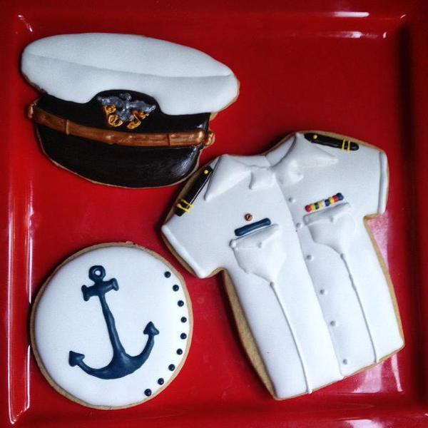 #8 - Naval Academy Cookies by Mrs. Joy