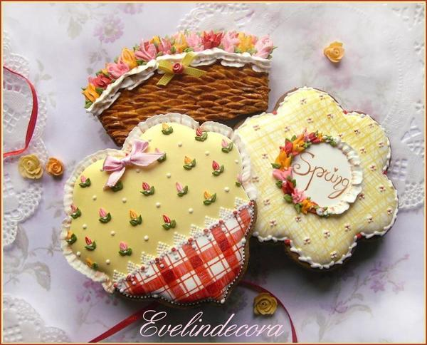 #1 - Spring Cookies by Evelindecora