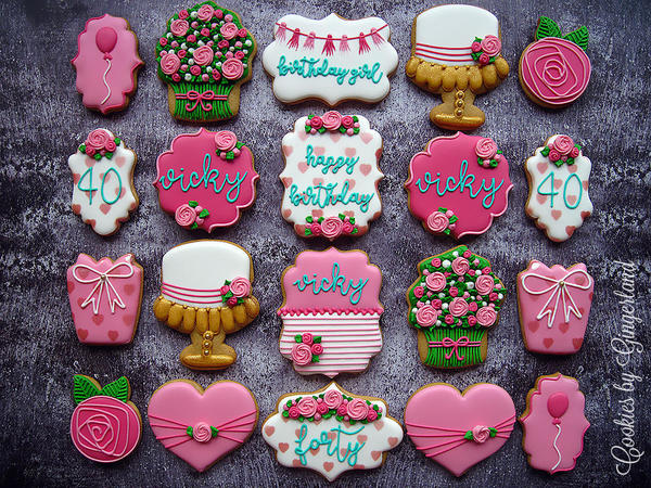 #9 - Birthday Cookies by Gingerland
