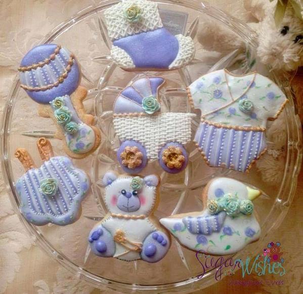 #10 - Baby Cookies by Tina at Sugar Wishes