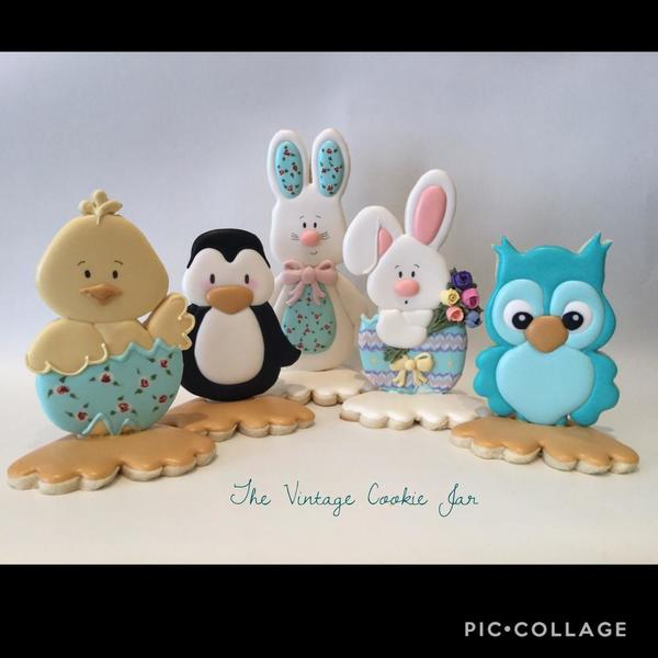 #6 - Fancy Feet Collection by The Vintage Cookie Jar
