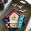 Where We're Headed - Nautical Cookie Platter: Design, Cookies, and Photo by Manu