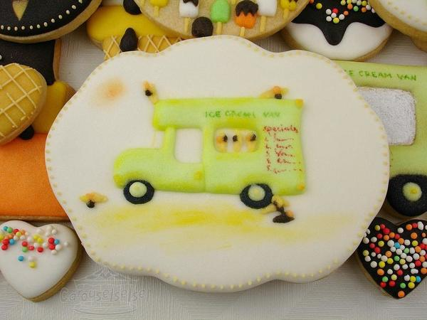 #2 - Ice Cream Truck for Dad by carouselselsel
