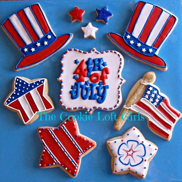 #9 - Fourth of July! by TriciaZ@Tricia's Cookie Cottage