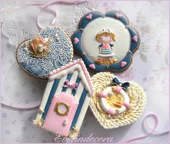 #1 - Sailor Girl Cookies by Evelindecora