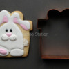 Easter Bunny: Cookie and Photo by Bakerloo Station
