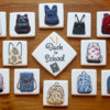 Back-to-School Backpacks Set: Cookies and Photo by Aproned Artist