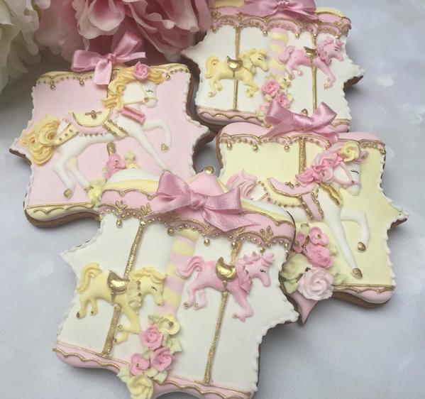 #3 - Carousel Cookies by Little-Fancies
