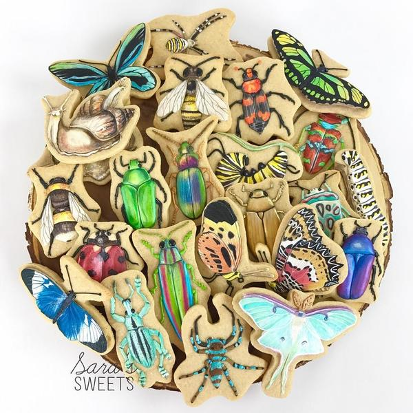 #10 - Bug Cookies by Sara's Sweets