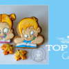Top 10 Cookies Banner: Cookies and Photo by My Lovely Cookie; Graphic Design by Julia M Usher