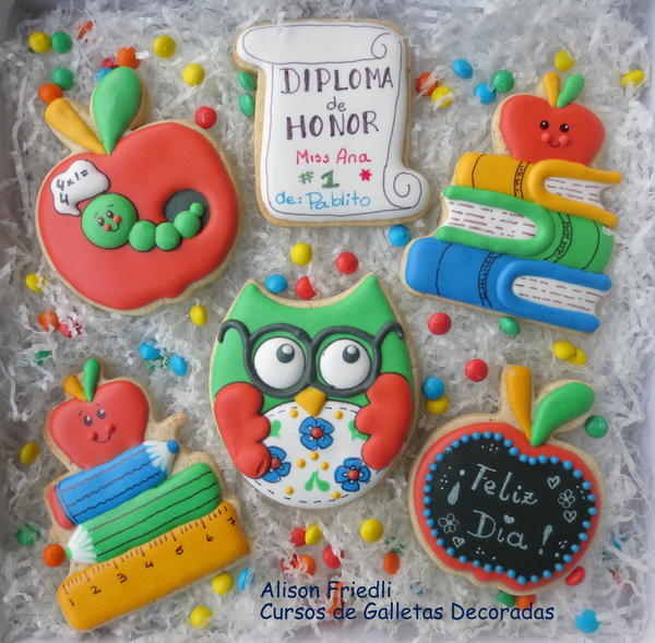 #7 - Back-to-School Vegan Icing and Cookies by Alison Friedli