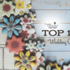 Top 10 Wedding Cookies Banner: Cookies and Photo by Bakerloo Station; Graphic Design by Julia M Usher